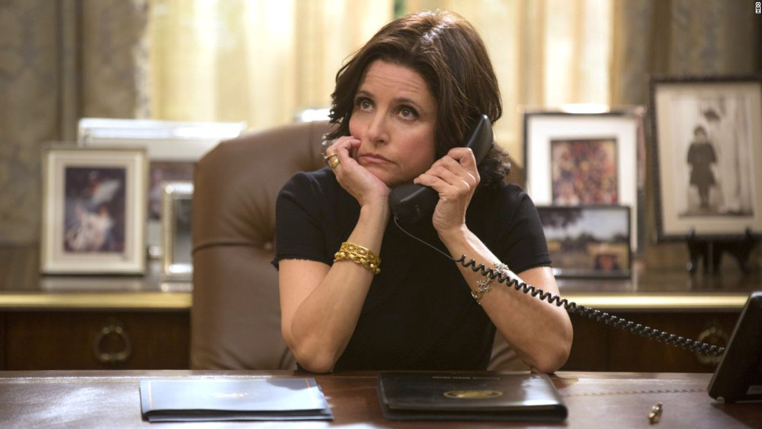 "<strong>""Veep"" season 4</strong>: Julia Louis-Dreyfus deals with life in the White House in this TV comedy. <strong>(iTunes) </strong>"