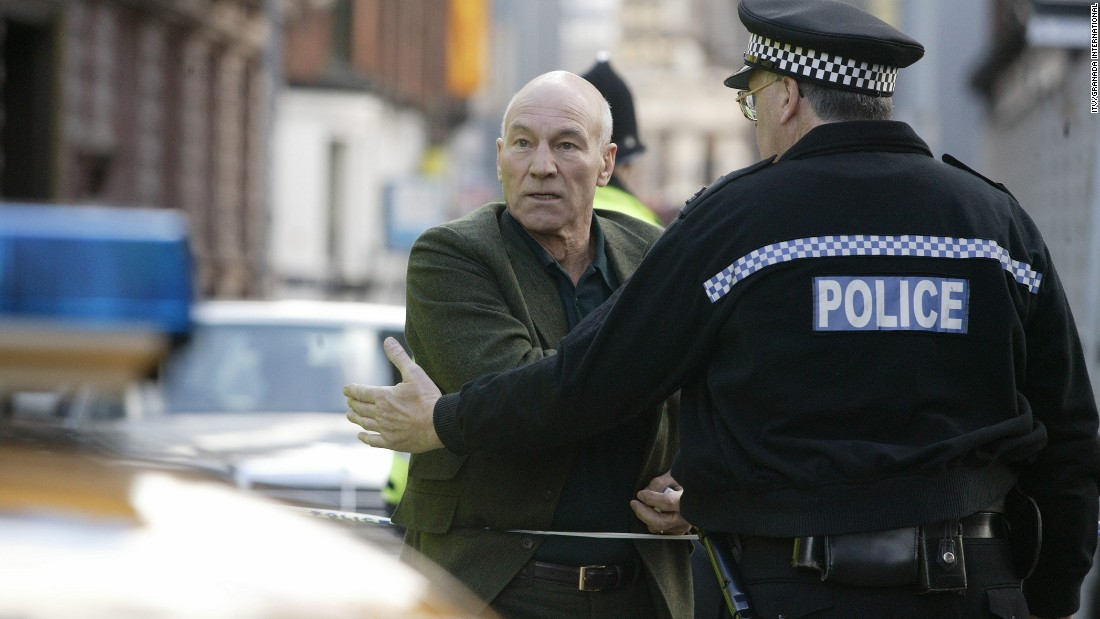 "<strong>""Eleventh Hour"" (2006)</strong>: Sir Patrick Stewart stars as professor Ian Hood, who investigates black-market human cloning and the outbreak of a deadly virus. <strong>(Acorn)</strong>"