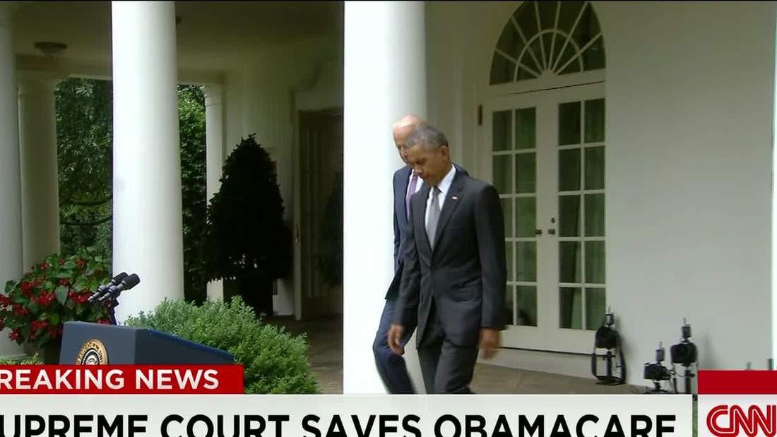 Supreme Court saves Obamacare