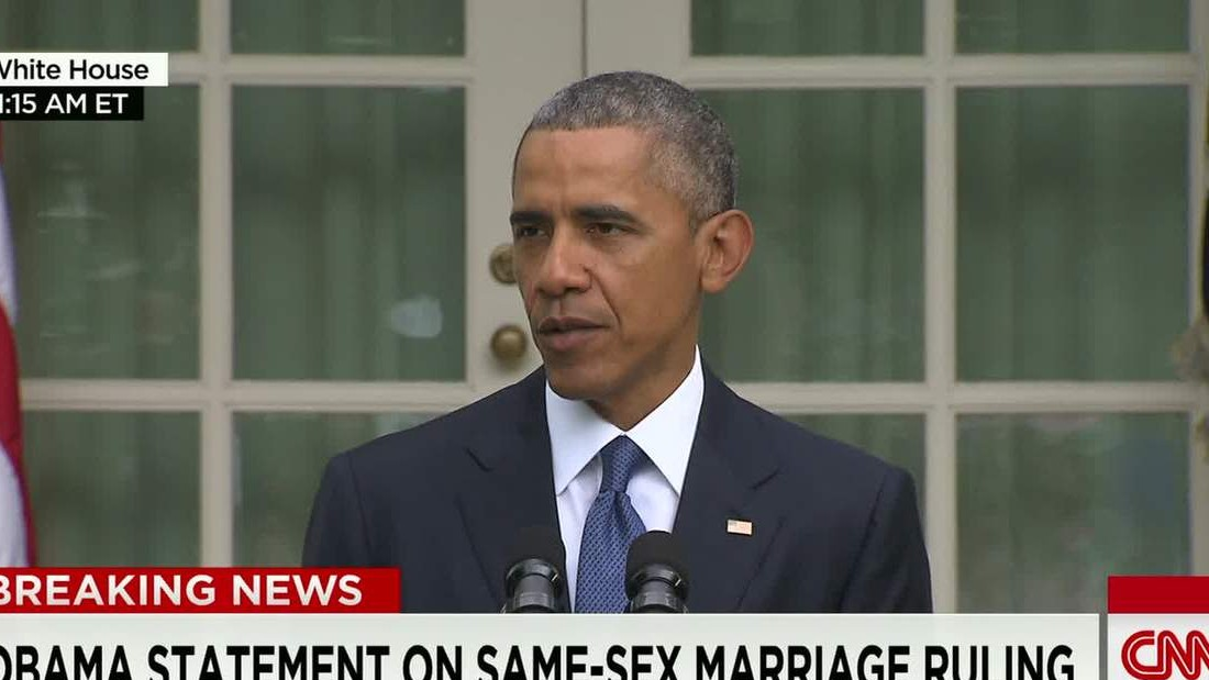 Obama: We've made our union a little more equal