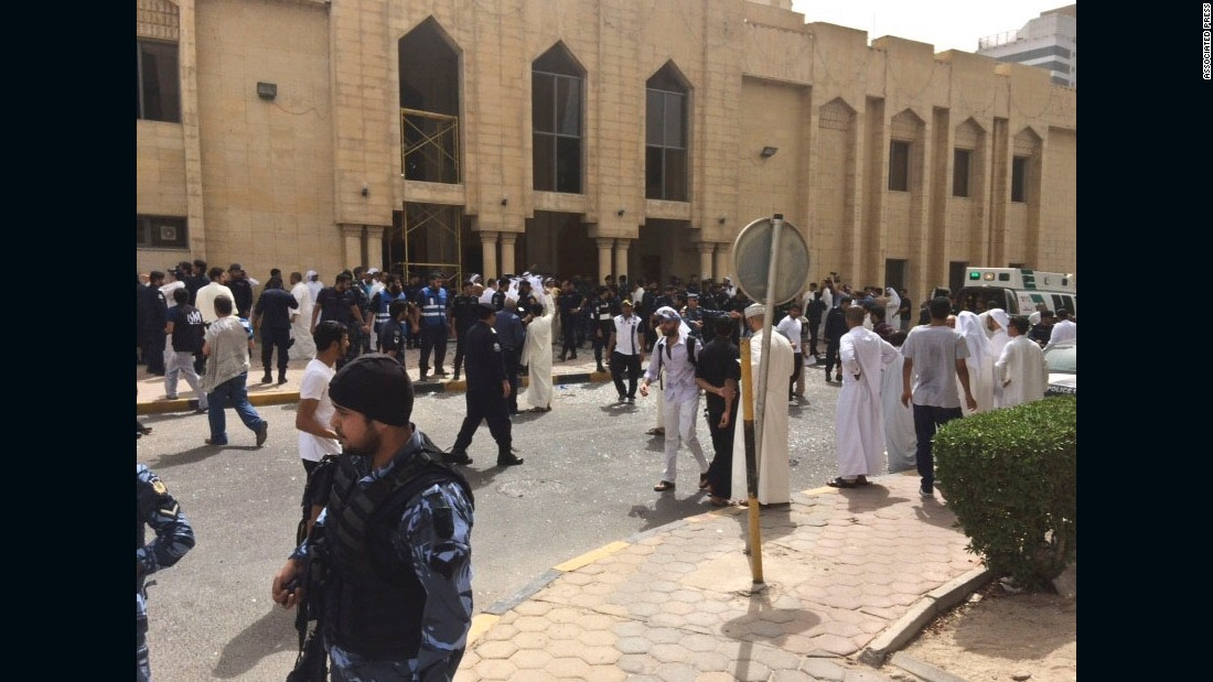 ISIS claims fatal mosque attack in Kuwait