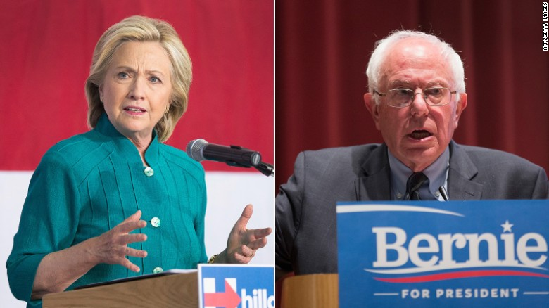 Bernie Sanders tops Clinton in recent poll