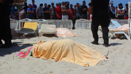 The June 26 beachfront attack at Sousse has left at least 27 people dead, including foreigners.