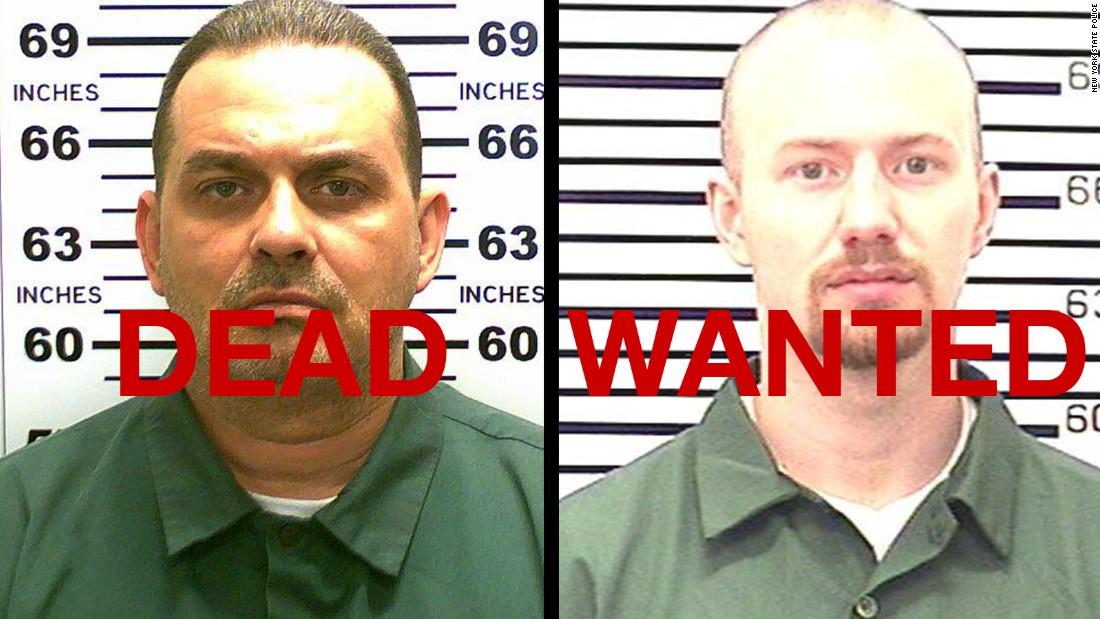 New York escapee Richard Matt killed; David Sweat still on the run