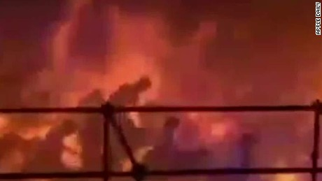 Nearly 500 injured by fireball at Taiwan water park