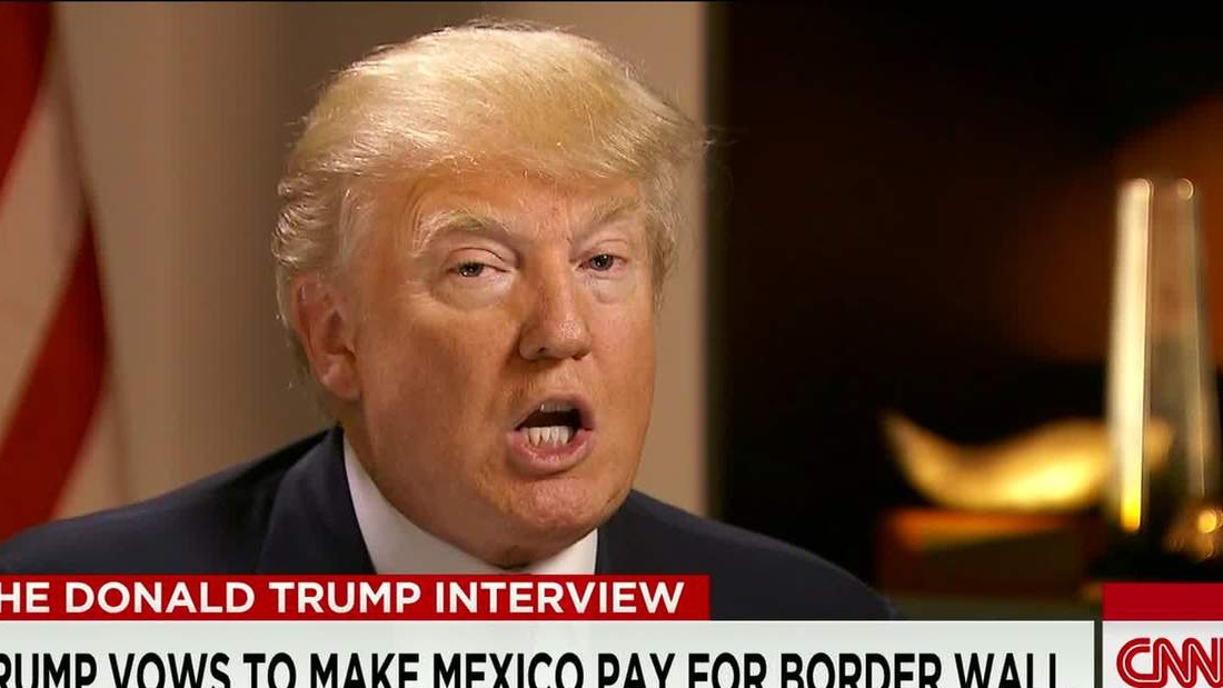 Candidate Donald Trump talks immigration, gay marriage and ISIS