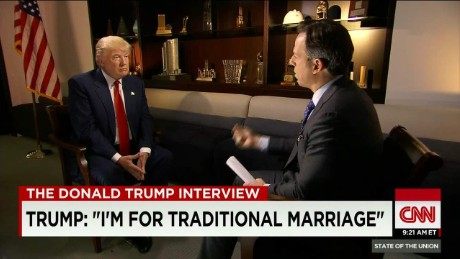 "SOTU Tapper: Trump is ""for traditional marriage""_00001620"