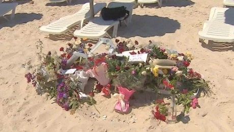 Tourists stay in Tunisia after terror attack meters away