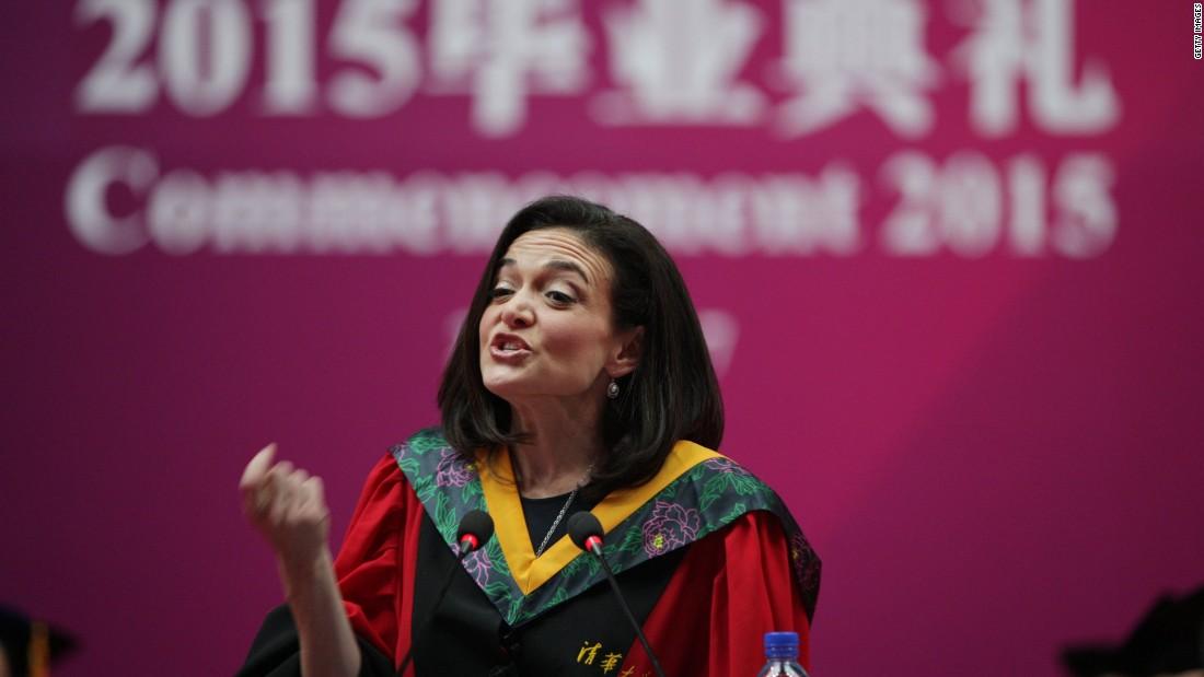 Facebook's Sheryl Sandberg to Chinese graduates: 'Win Hearts, Not Minds'