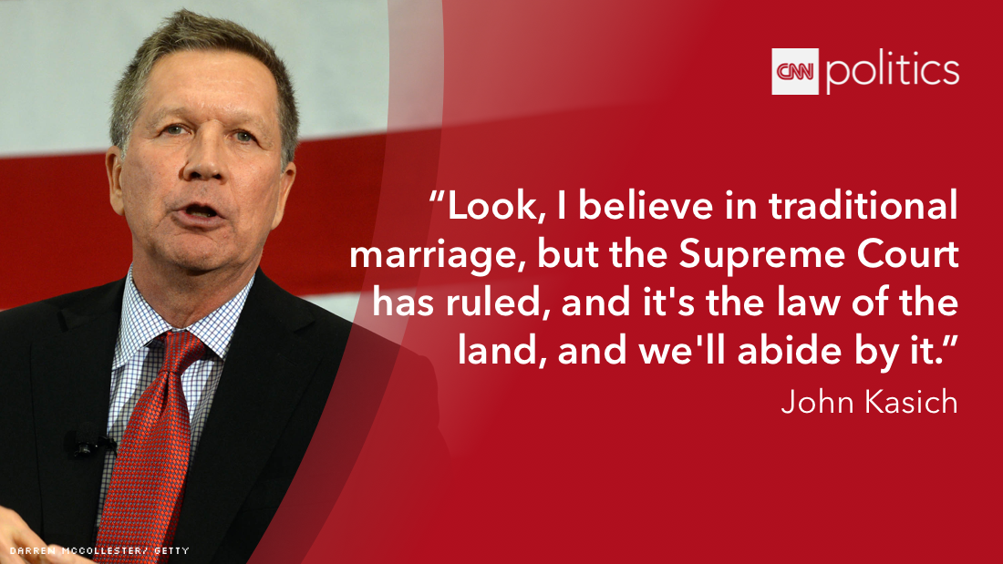 12 presidential candidates speak out on gay marriage ruling