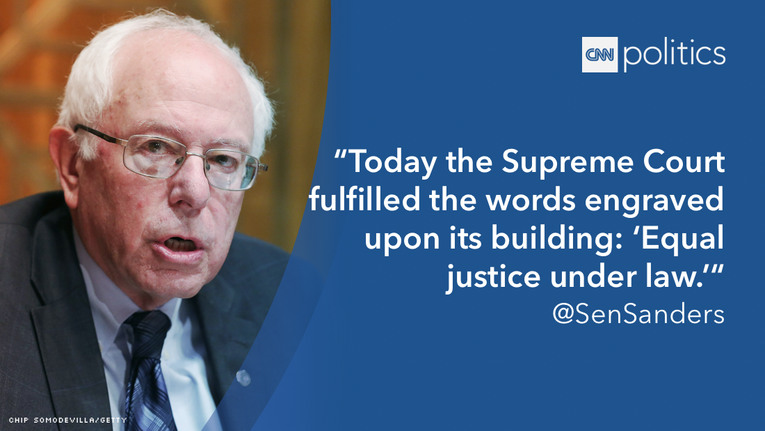 2016 scotus quote bernie sanders