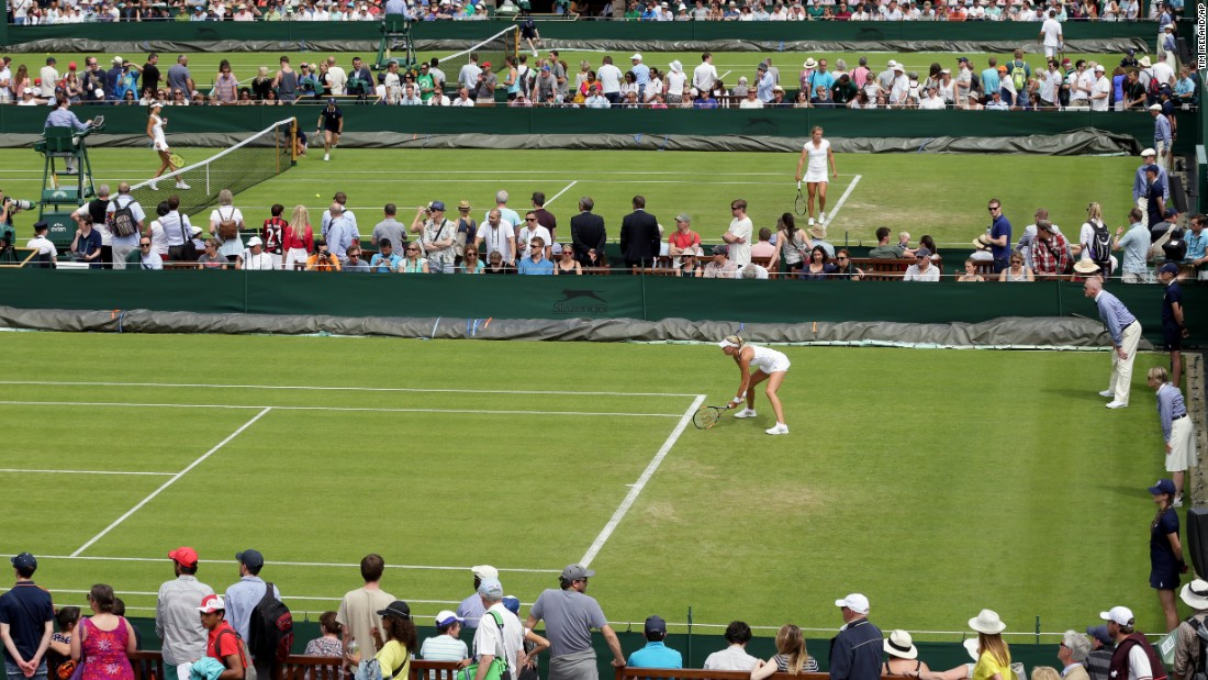 Several matches take place at the All England Club on the first day of Wimbledon on Monday, June 29.