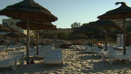 Survivors of Tunisia terror attack remain at hotel