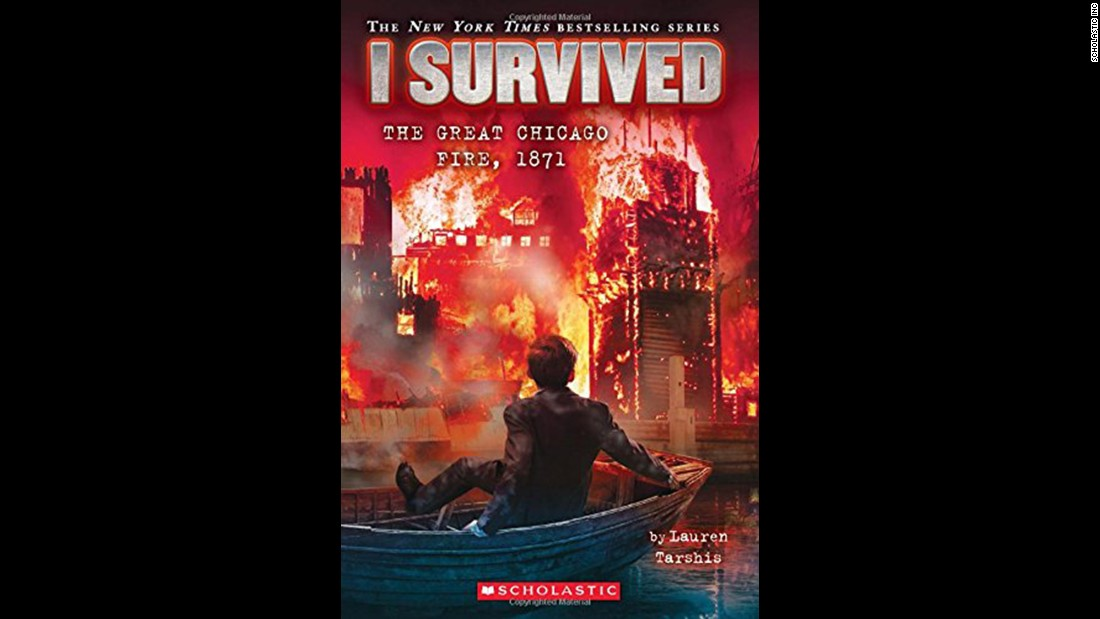 """The 'I Survived' series gives kids a real and gripping, 'you are there' feeling as tragic events in history, such as the subject of this 11th book, 'I Survived The Great Chicago Fire, 1871,' are recounted by a fictional boy who lived to tell the tale,"" Wilson said. ""Other books in the series include events as varied as the destruction of Pompeii to the attacks of September 11."" Fiction, ages 7-10."