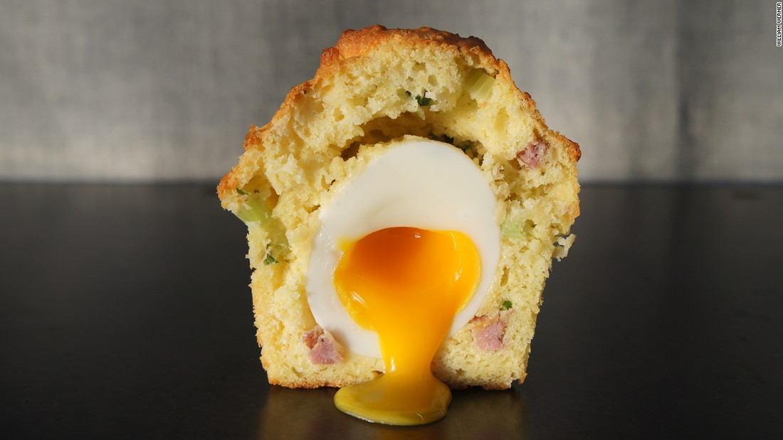 The Rebel Within -- named after a Hank Williams song -- is a twist on the classic Scotch egg. Served by San Francisco restaurant Craftsman and Wolves, it features a soft-cooked egg inside a savory muffin.