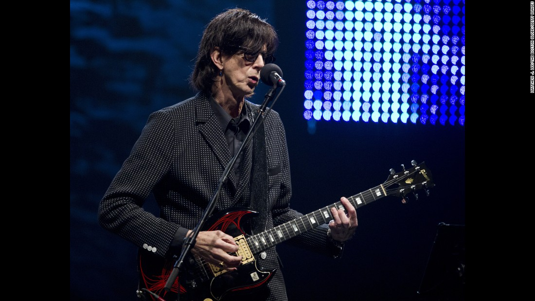 "The Cars' ""Drive"" provided the music for a heartbreaking video showing famine victims that was played during the Live Aid concert. Three years later, the band broke up. Vocalist and guitarist Ric Ocasek -- shown here in 2011 -- continues to produce recordings for other bands. In 2000, Cars singer/bassist Benjamin Orr lost a fight with cancer at age 53. The remaining members reunited and released an album in 2011."