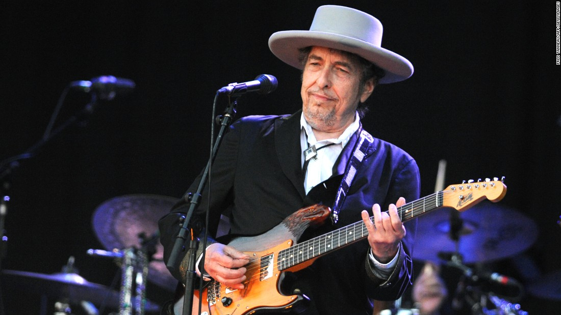 It was at Live Aid where Bob Dylan -- shown here in 2012 -- sparked the notion of Farm Aid, suggesting that performers raise money to save failing family farms in the United States. That same year, Dylan appeared at the first Farm Aid. In 1988, he co-founded the hit-making Traveling Wilburys with some of the biggest names in music. The prolific singer-songwriter continues to record and perform. In 2016, Dylan won the Nobel Prize for literature.