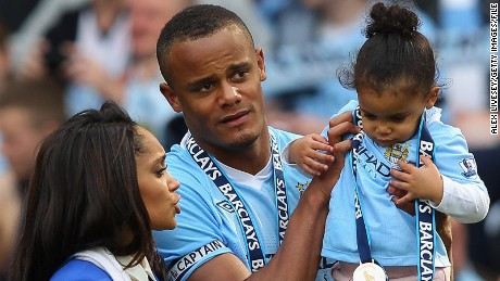 Vincent Kompany: Football's family man says giving back is part of his DNA