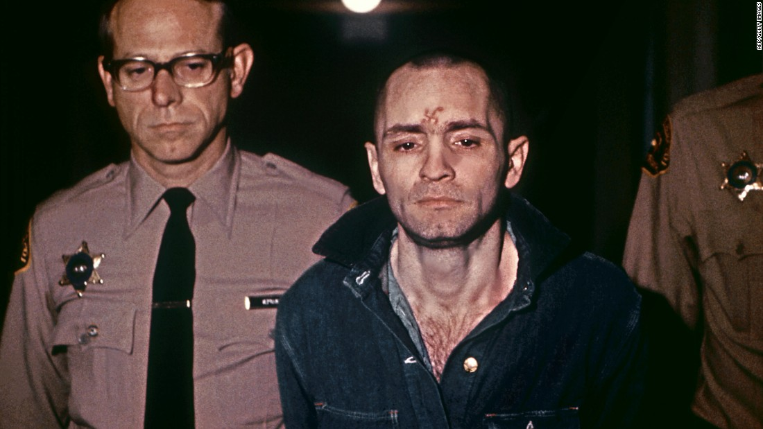 "A beardless Charles Manson, sporting a shaved head in 1971. ""The very name 'Manson' has become a metaphor for evil, catapulting him to almost mythological proportions,"" according to the late Vincent Bugliosi, the district attorney responsible for prosecuting Manson."