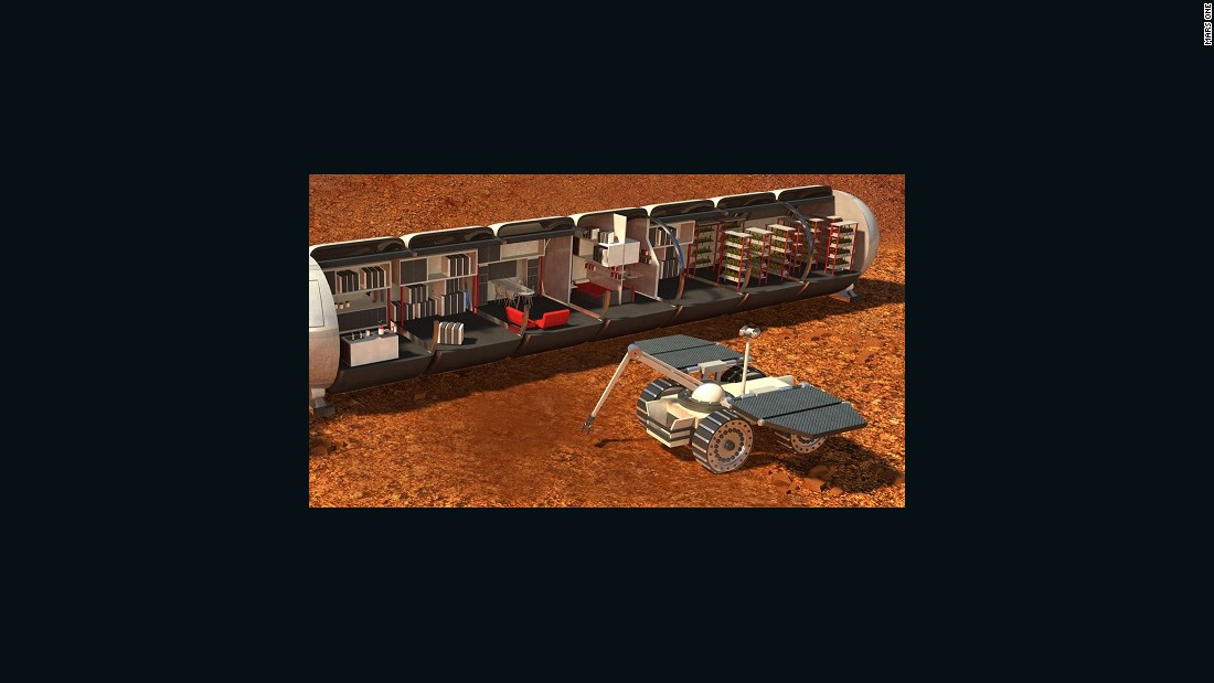 Long-term life support on Mars should be possible someday, study says