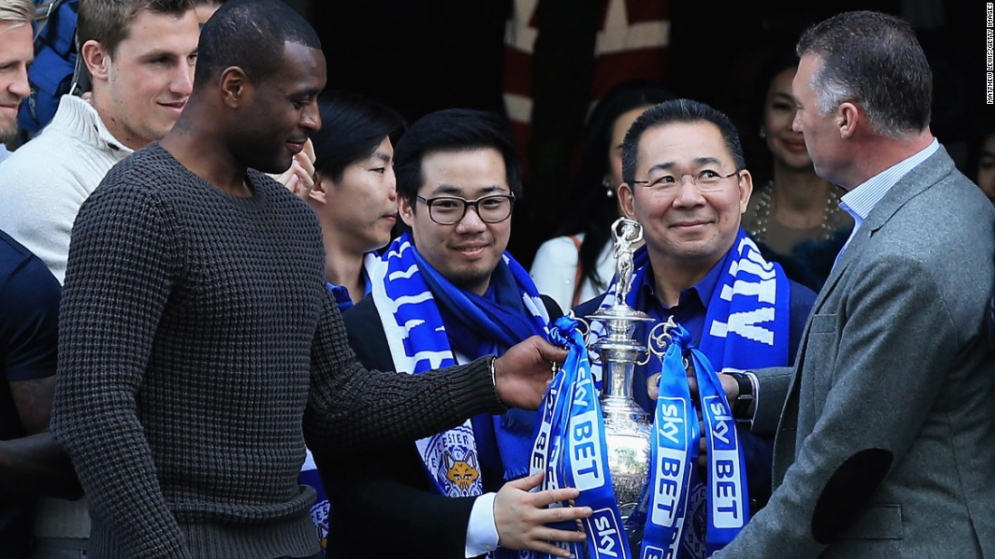 Backed by Bangkok-based King Power, Leicester is aiming to establish itself as a regular member of the Premier League having fallen as far as the third tier of English football in recent years.