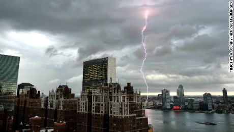The most dangerous month for lightning strikes