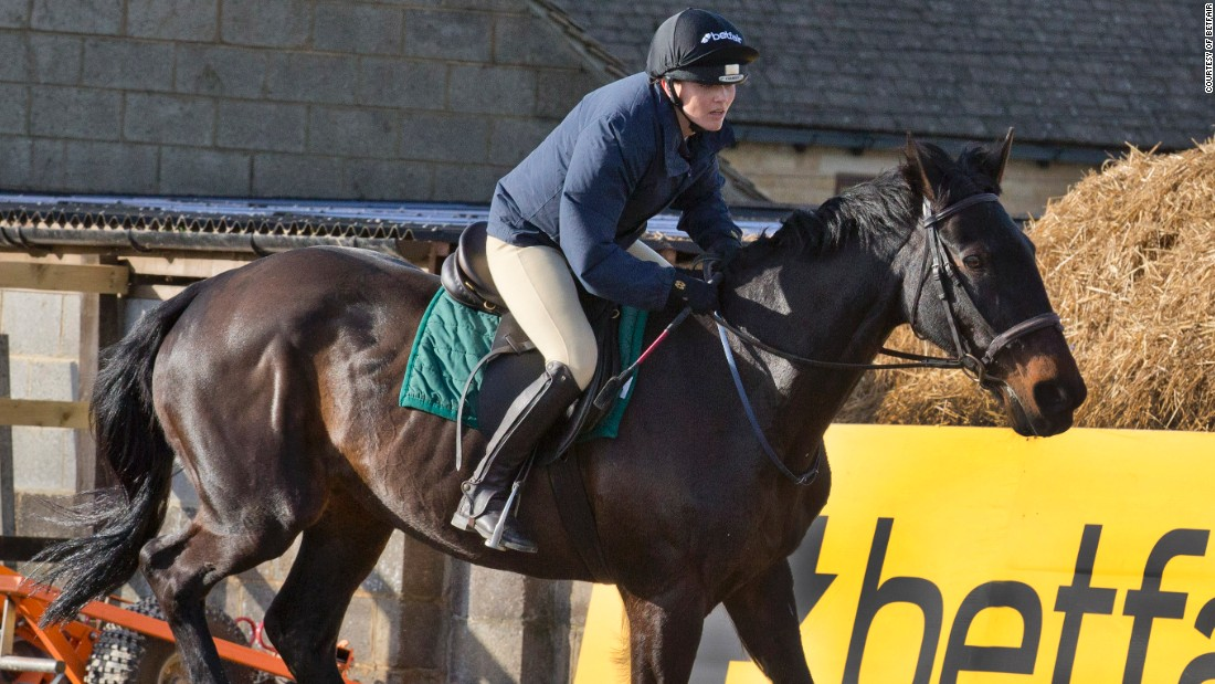 Pendleton's ultimate aim as a amateur jockey is to ride in the Foxhunter Chase at Cheltenham next March.