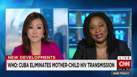 Cuba stops mother to child HIV transmission_00033227