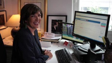 """I think the most important work I've done was covering Bosnia in the '90s,"" Christiane Amanpour says."