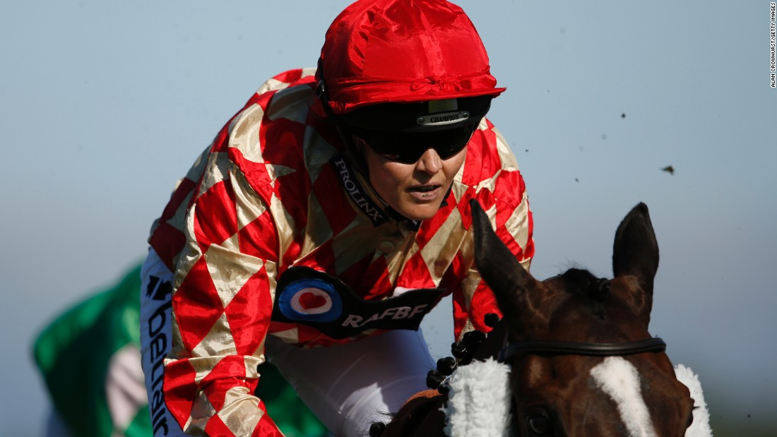Victoria Pendleton, Briton's double Olympic track cycling champion made her debut as a jockey at Newbury Racecourse in July.