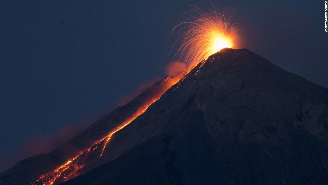 Guatemala's Fuego has awakened and then subsided, authorities said Thursday, after the government issued a danger warning the day before in response to eruptions at one of Central America's most active volcanoes.