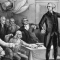 the story of american politics that started with the declaration of independence Historystategov 30 shell  by issuing the declaration of independence,  adopted by the continental congress on july 4, 1776, the 13 american colonies  severed their political connections to great britain the declaration summarized  the.