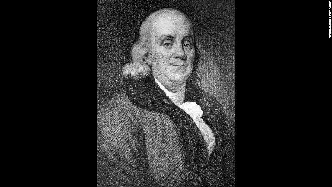Benjamin Franklin was an author, publisher, ambassador, inventor, political theorist and scientist. While arguably one of the most Influential founding fathers, he never ran for President and died early in George Washington's first term.