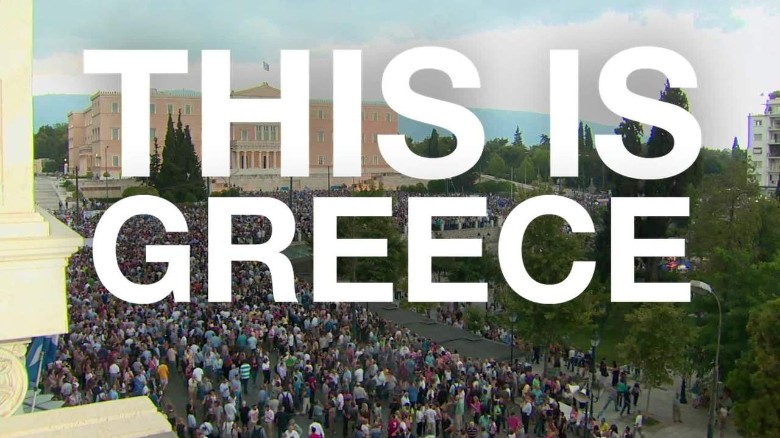 Greece residents split on financial referendum vote