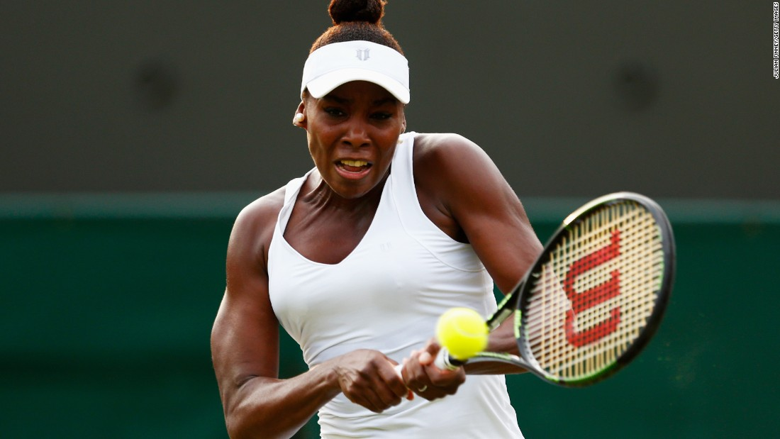 Up next for Williams is older sister Venus, who had no such troubles Friday. She crushed Aleksandra Krunic.