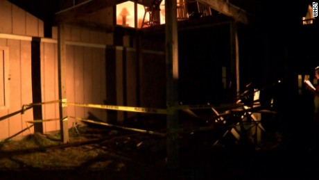 At least 14 people were hurt, including two critically, when a deck collapsed at a beach house in Emerald Isle, North Carolina.