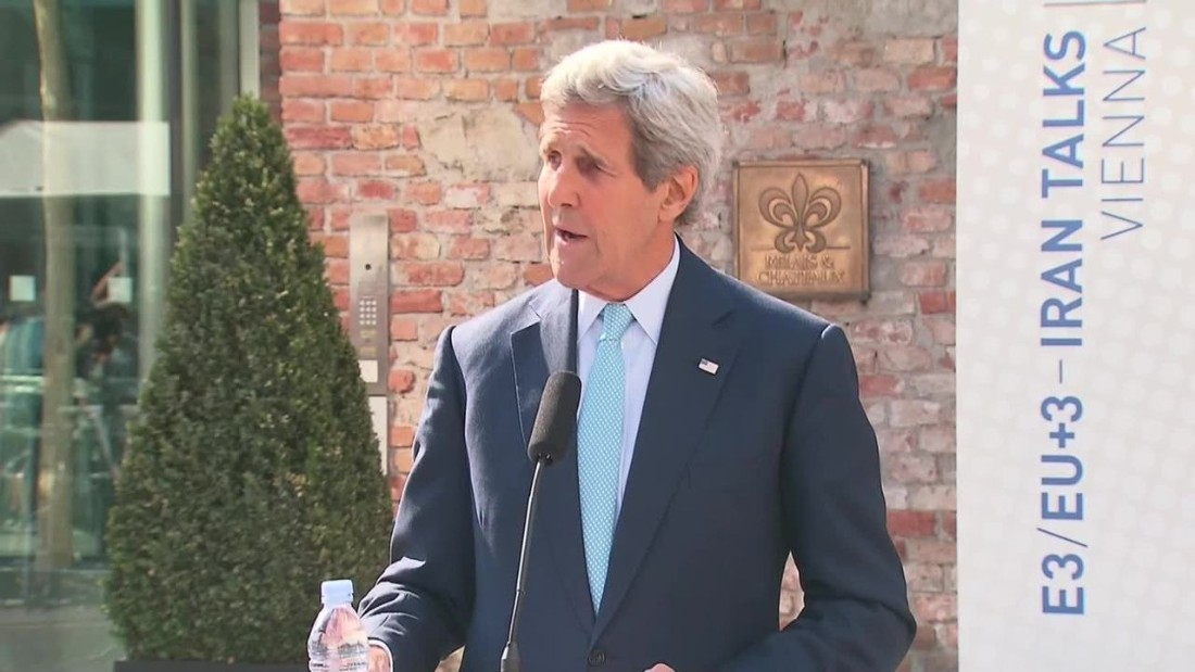 As deadline looms for Iran nuclear deal, Kerry says talks could go either way