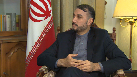 Iran's Deputy Foreign Minister Hossein Amir Abdullahian who says America left a positive impression in the recent talks.