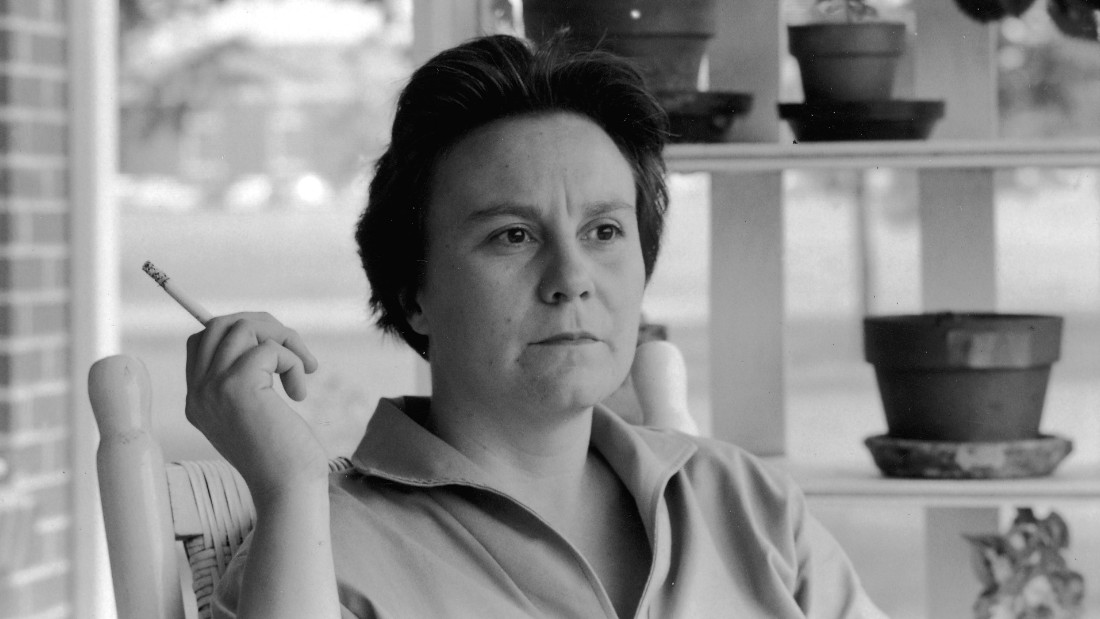 Portrait of American novelist Harper Lee smokes a cigarette as she sits on the porch of her parents home, Monroeville, Alabama, May 1961. Lee's novel 'To Kill a Mockingbird' was award the 1961 Pulitzer Prize in Fiction the previous month. (Photo by Donald Uhrbrock/The LIFE Images Collection/Getty Images)