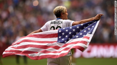 Abby Wambach and the 22 other members of Team USA will be there.