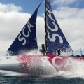 Team SCA boat
