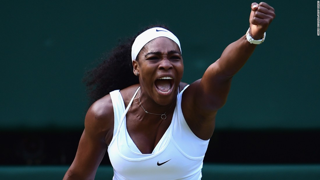 Serena Williams entered Tuesday's quarterfinal against Victoria Azarenka at Wimbledon as the favorite and duly progressed.