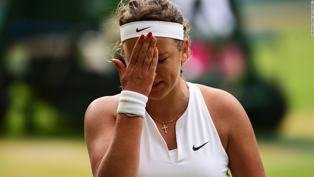 Indeed Williams jumped out to a 3-0 lead in the third set and wouldn't look back. It would turn out to be that kind of day for Azarenka.