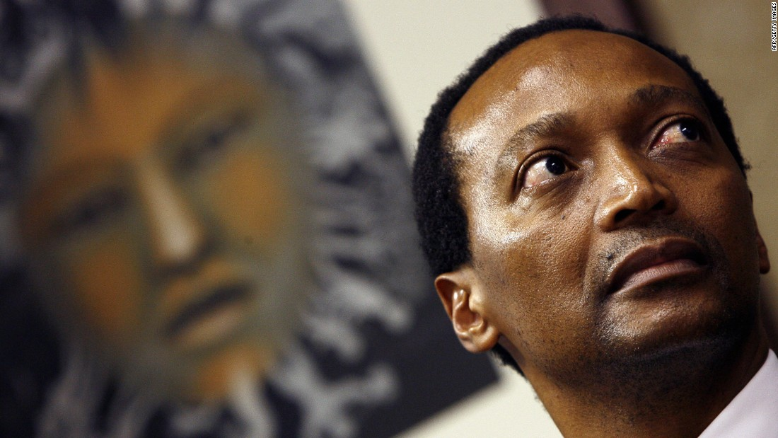 Motsepe is the founder of African Rainbow Minerals, South Africa's first black-owned mining company, which currently employs over 12,000 people.