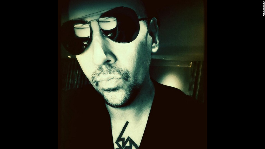 """Day one of The End Times,"" <a href=""https://instagram.com/p/40LdisnxGd/"" target=""_blank"">said rocker Marilyn Manson,</a> referring to his tour with the Smashing Pumpkins on Monday, July 6."