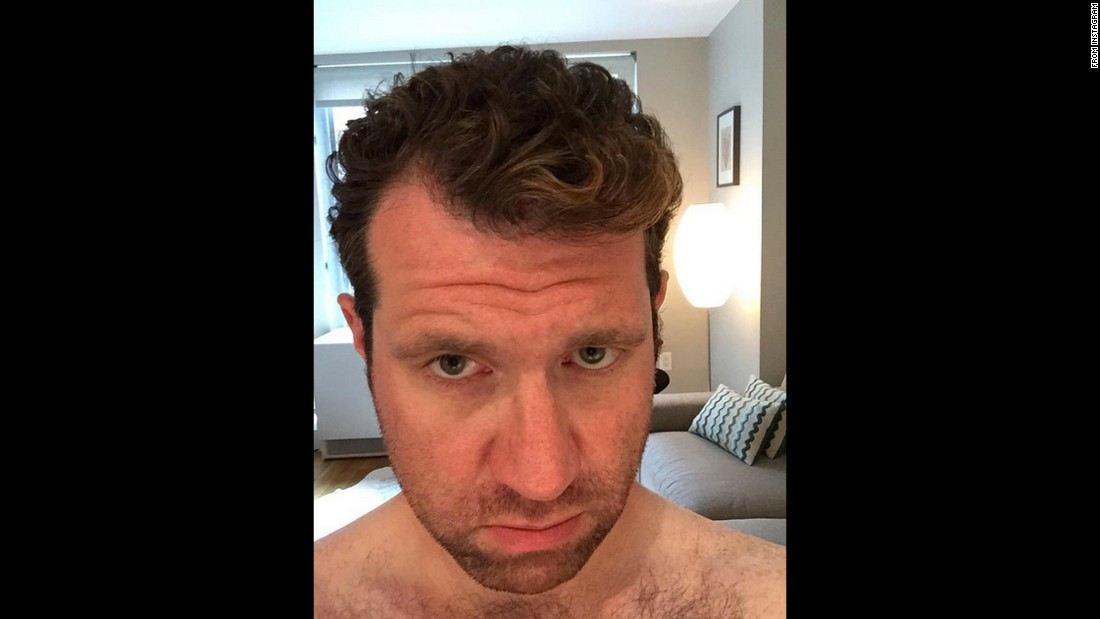 """The sun is making my hair blonde and I don't know how to feel,"" <a href=""https://instagram.com/p/4z2c-tsuoh/"" target=""_blank"">comedian Billy Eichner said</a> on Monday, July 6."