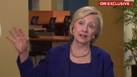 Hillary Clinton people should and do trust me CNN Exclusive Interview _00001422