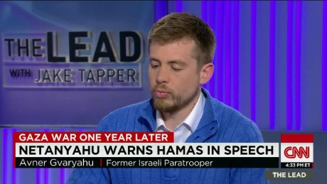 Gaza War fmr. israeli soldier reacts Lead intv_00013121