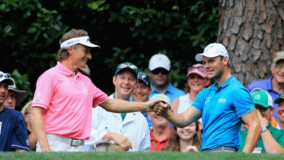 Langer has been a trailblazer for a younger generation of German golfers, among them former world No.1 Martin Kaymer.