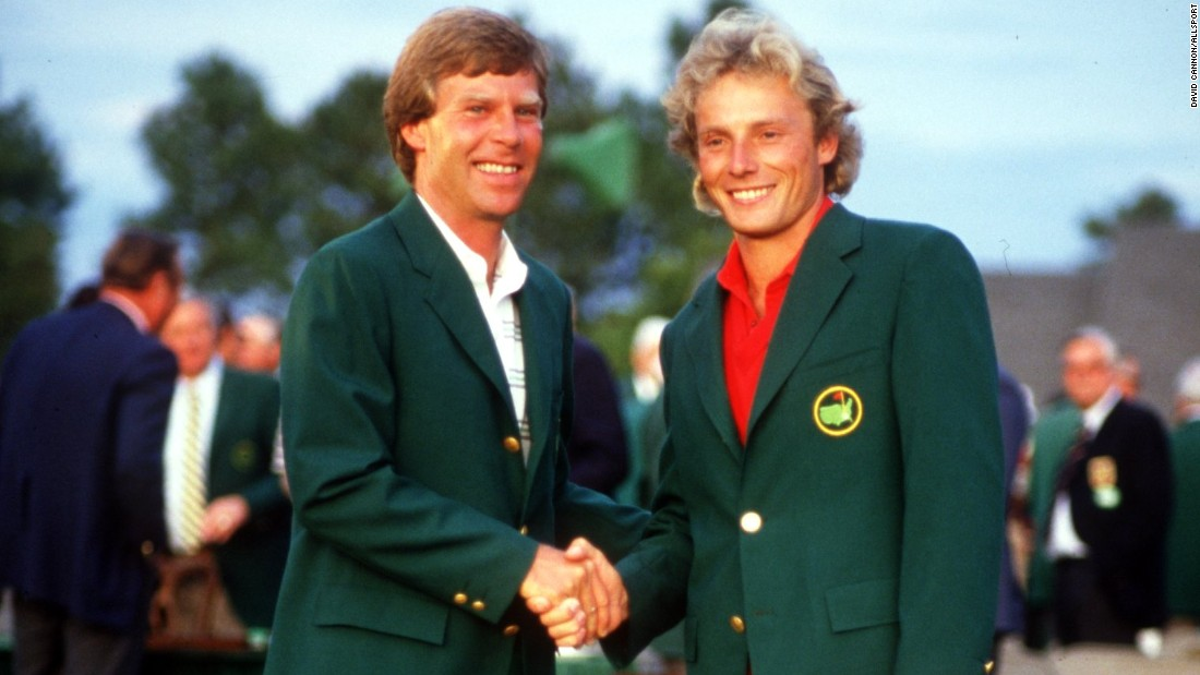 Langer's most notable successes have come at the Masters, where he first donned the Green Jacket as champion in 1985.